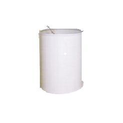 SOLUTION TANK, 36 GAL. WITH LID
