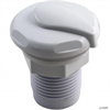 "1"" TOP DRAW AIR CONTROL, WHITE"