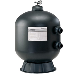 PENTAIR TRITON HD SIDE MOUNT SAND FILTER, TR100HD, BLACK ONLY
