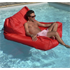 SIT IN POOL FLOATING POOL LOUNGER BY OCEAN BLUE, RED