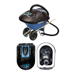 ROLL-N-VAC HD2 INDUSTRIAL EXTRACTOR (2 BOXES)(FITS ERIE WHEEL BARROW NOT INCL.)