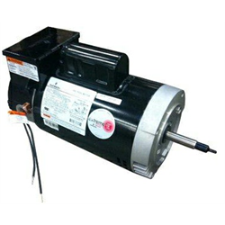 2HP 2-SPEED 56J FRAME MOTOR W/ INTEGRATED TIMER (JACUZZI, HAYWARD)
