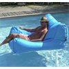 SIT IN POOL FLOATING POOL LOUNGER BY OCEAN BLUE, TURQUOISE