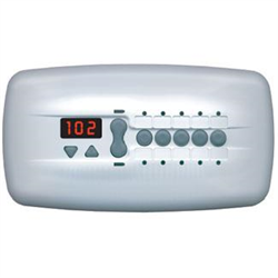 PENTAIR iS10 FUNCTION SPA SIDE REMOTE, 150' CORD, BISQUE COLOUR