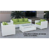 TRINITY 4 PIECE COUCH SET (MOCHA FRAME/CAPPUCCINO CUSHIONS)