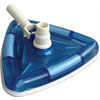 DELUXE TRANSPARENT TRIANGULAR WEIGHTED VAC HEAD (6 CASE) (REPLACES VH52)